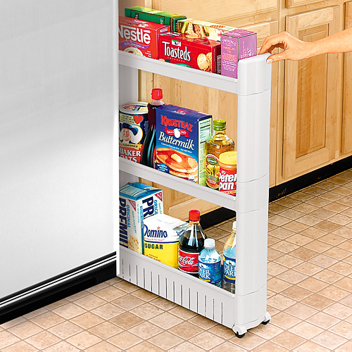 Rolling kitchen pantry Photo - 2
