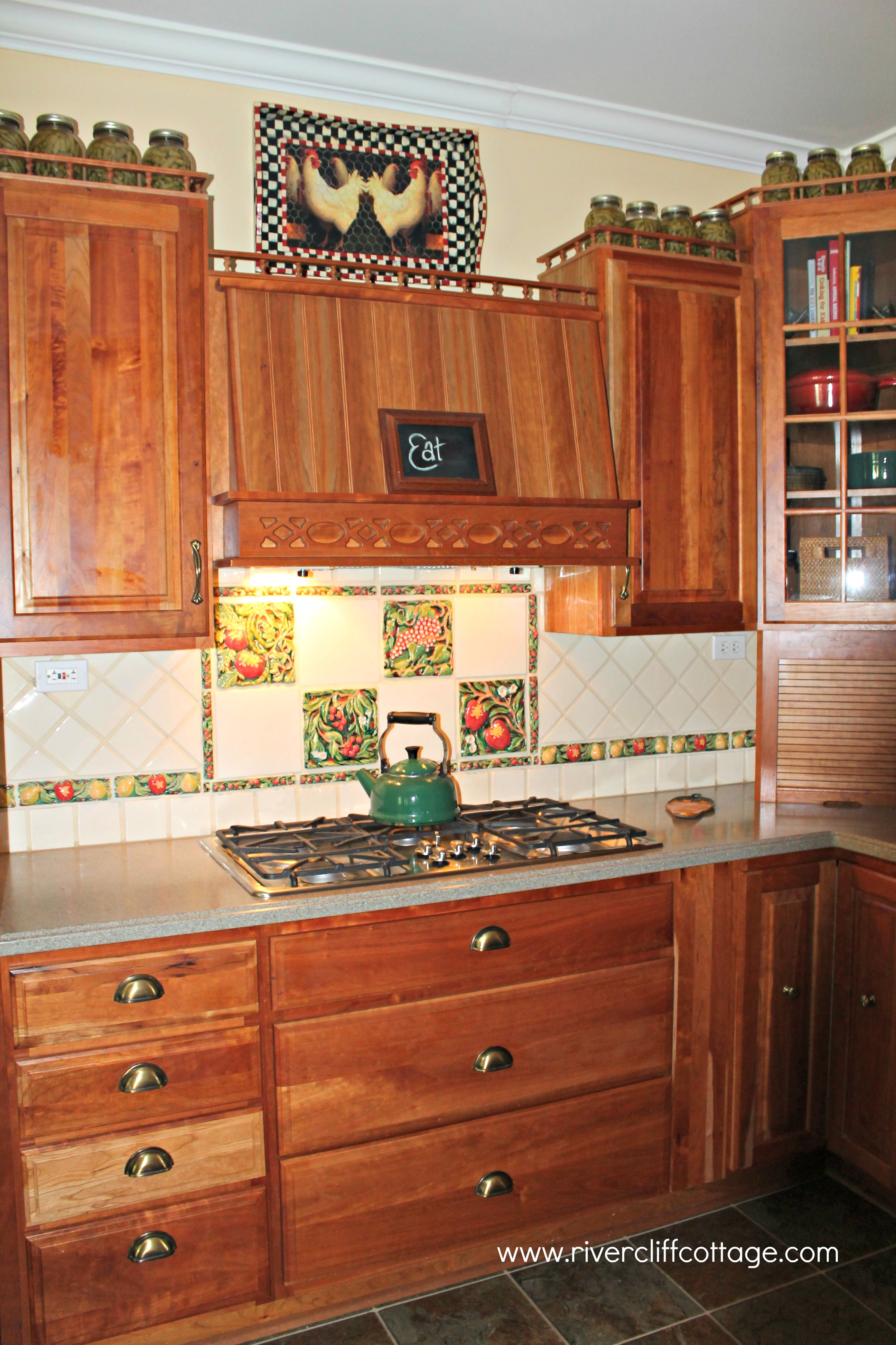 Rooster Kitchen Curtains Rooster Curtains For Kitchen Kitchen Ideas