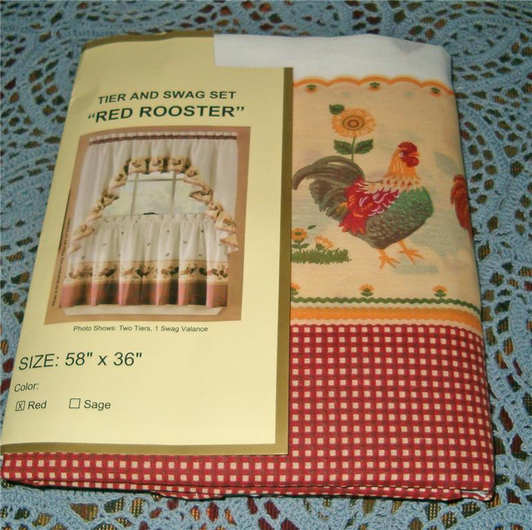 ... Rooster Kitchen Curtains Photo   12