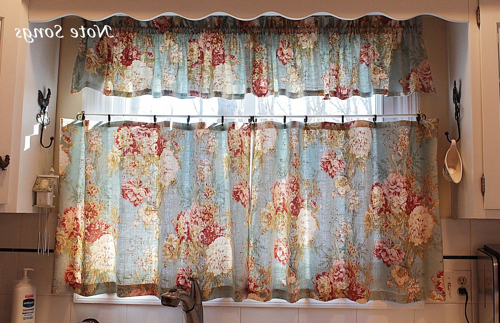 Rooster Kitchen Curtains Photo U2013 4
