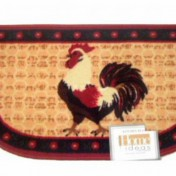 Rooster kitchen mat Photo - 1