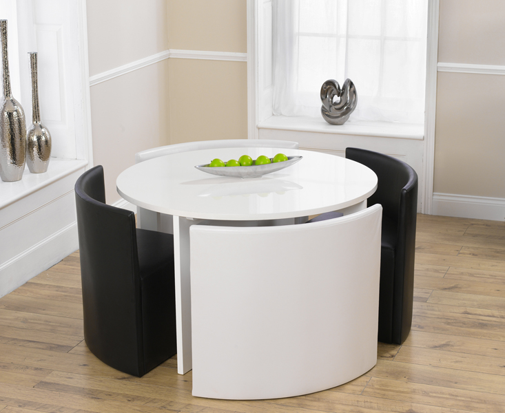 Round black kitchen table and chairs Kitchen ideas