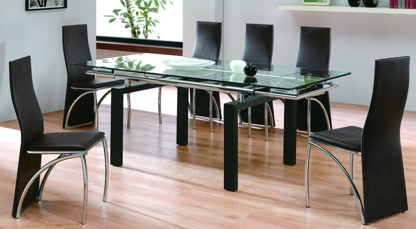 Kitchen Table Glass Top Round glass top kitchen table kitchen ideas workwithnaturefo
