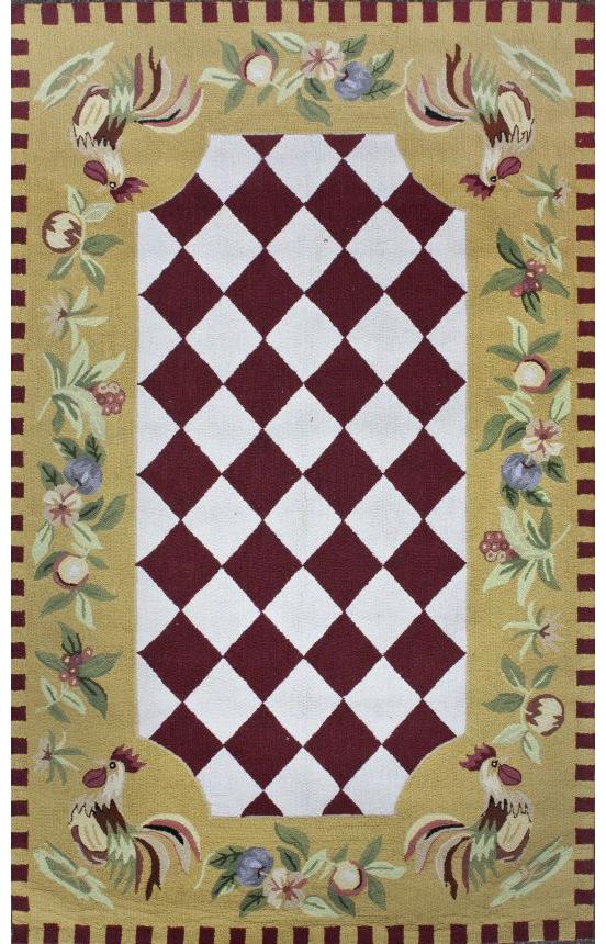 Round kitchen rugs kitchen ideas for Kitchen rugs with fruit design