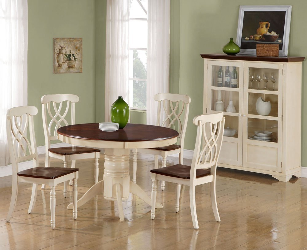 Round kitchen table and chairs kitchen ideas for Round kitchen table ideas