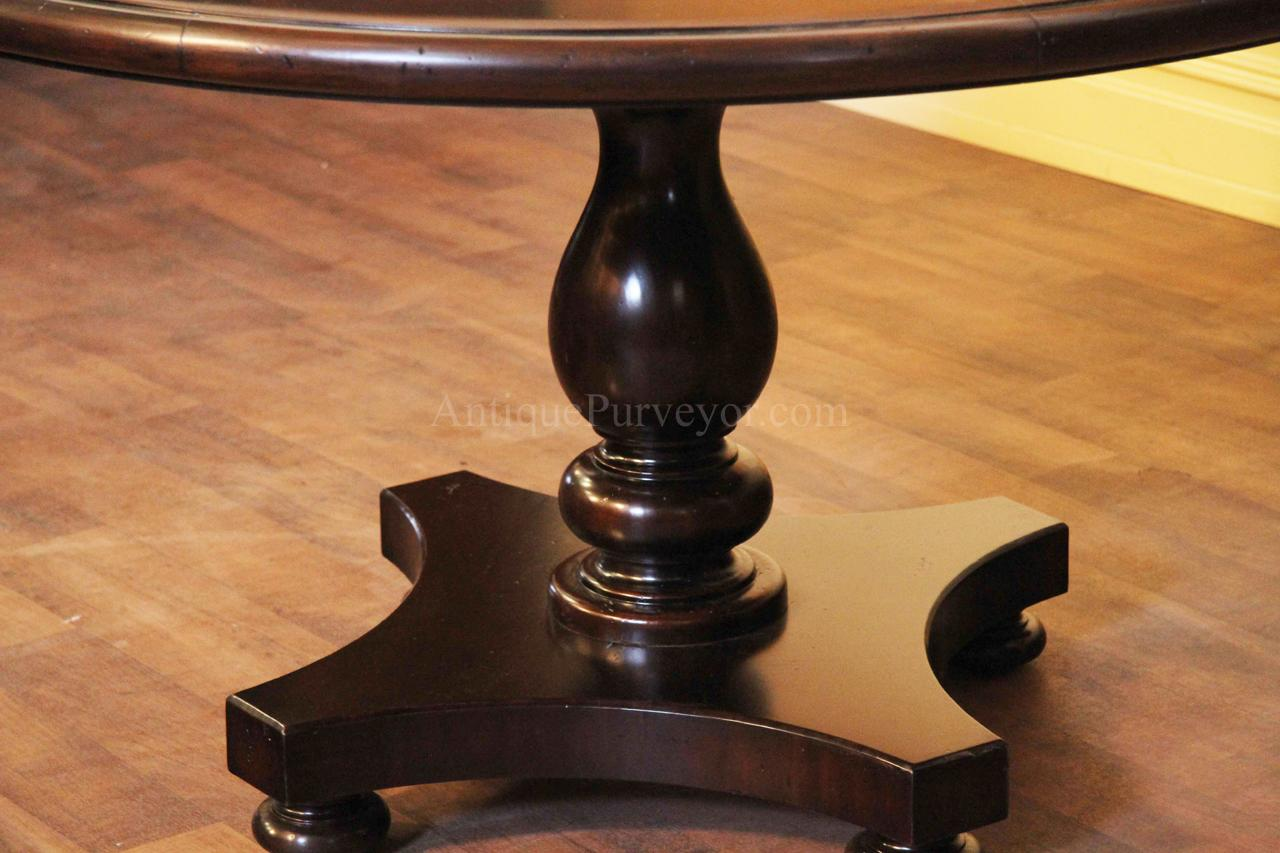 Pedestal Kitchen Table Round With Traditional Kitchen  : Round pedestal kitchen table 6 from imagemag.ru size 1280 x 853 jpeg 109kB