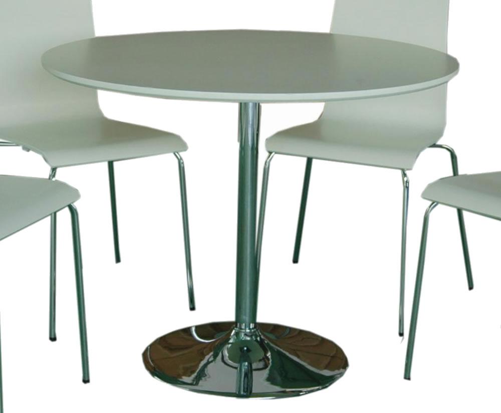 Round white kitchen table photo 7 kitchen ideas for Round kitchen table ideas