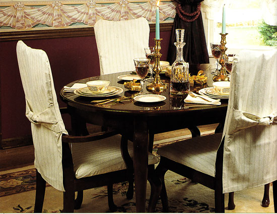 Seat covers for kitchen chairs Photo - 1