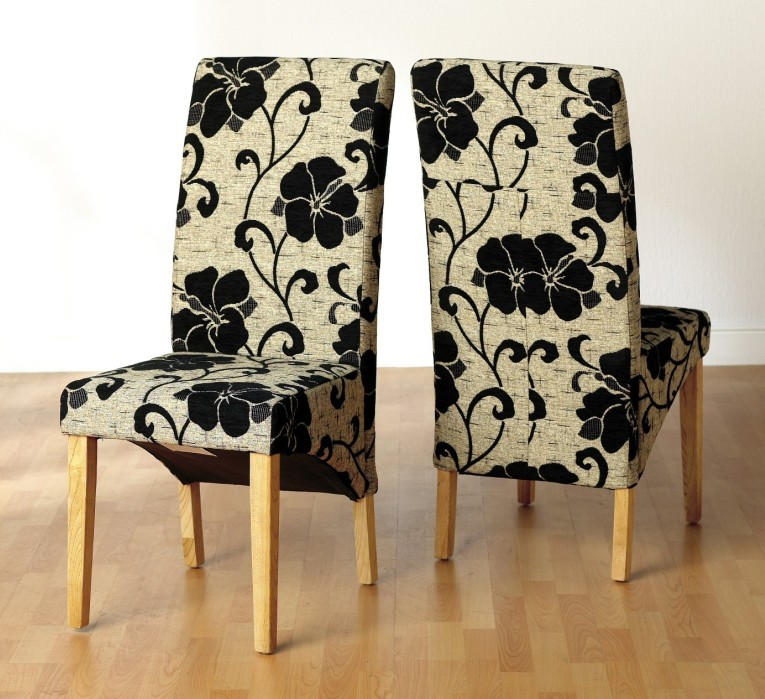 Seat covers for kitchen chairs Photo - 9