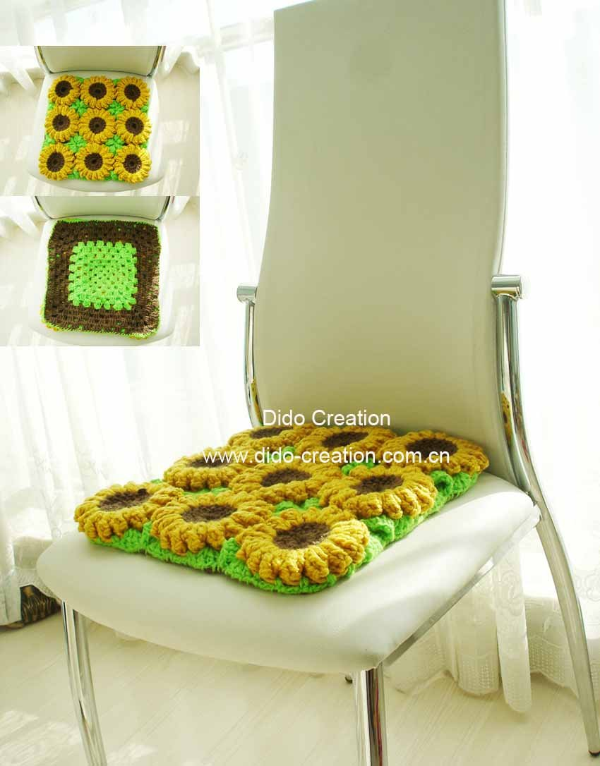 Seat pads for kitchen chairs Photo - 2