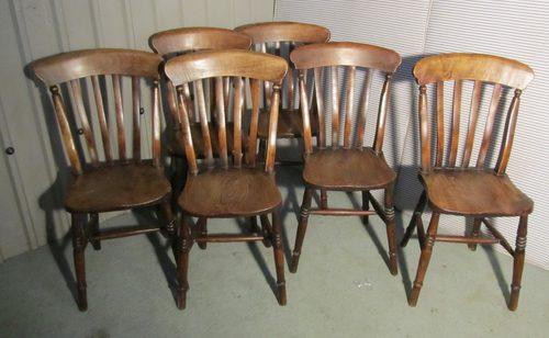 Set of 4 kitchen chairs Photo - 9
