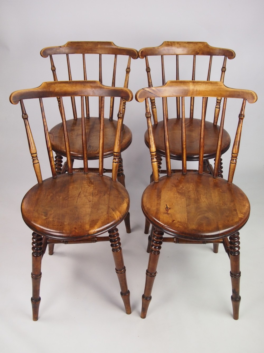 Set of 4 kitchen chairs Photo - 2