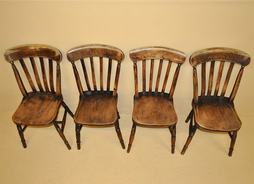 Set of 4 kitchen chairs Photo - 3
