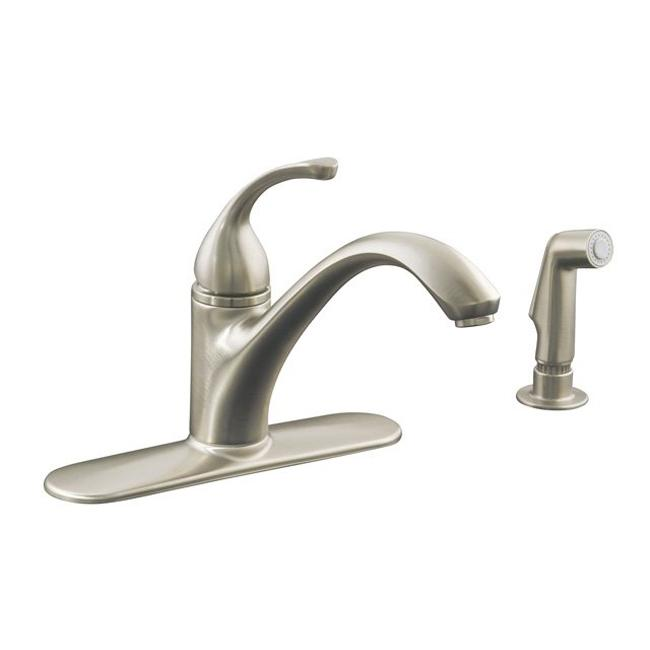 Single handle kitchen faucet with side spray – Single Handle Kitchen Faucet with Side Spray