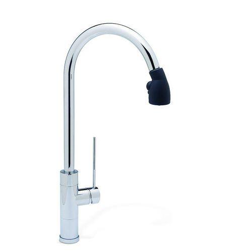 Single handle pullout kitchen faucet Photo - 12