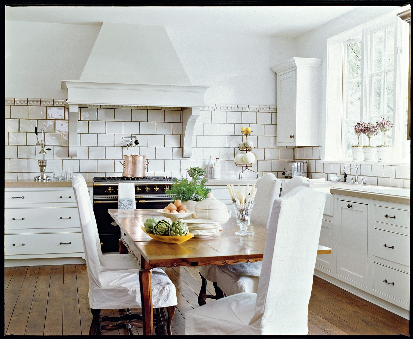 Slipcovers for kitchen chairs Photo - 1