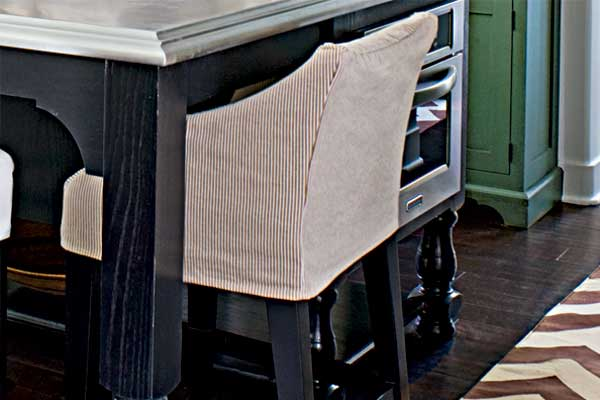 Slipcovers for kitchen chairs Photo - 12