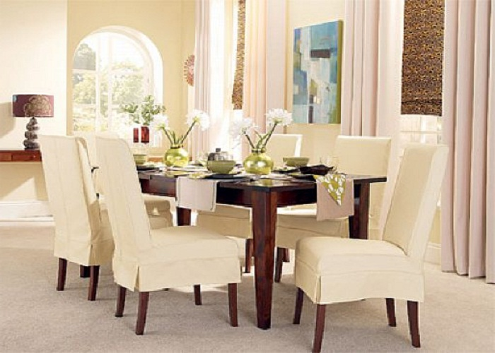 Slipcovers for kitchen chairs Photo - 3