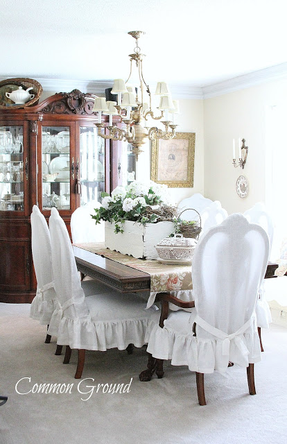 Slipcovers for kitchen chairs Photo - 5