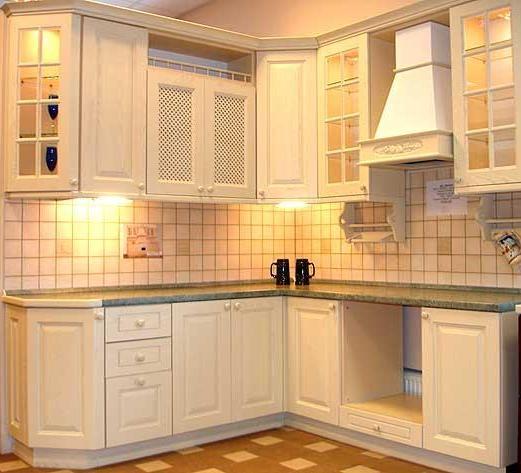 Small corner cabinet for kitchen Photo - 1