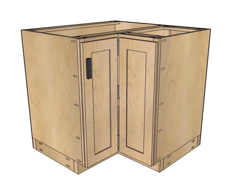 Small corner cabinet for kitchen Photo - 7