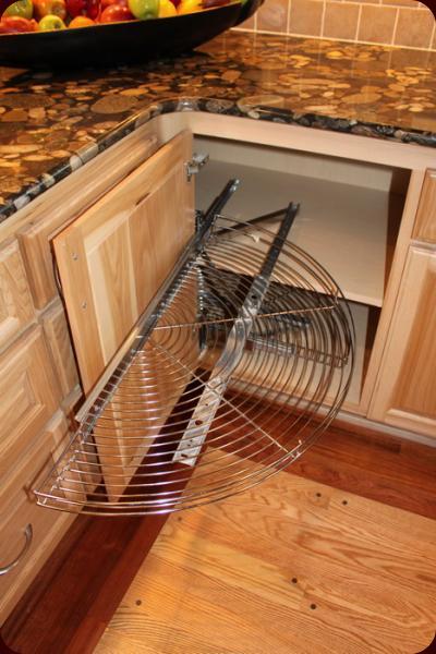 Small corner cabinet for kitchen Photo - 8