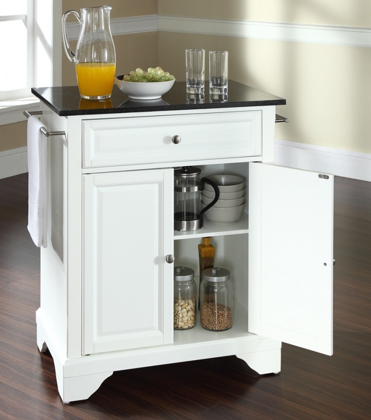 Small kitchen island cart kitchen ideas for Kitchen trolley designs for small kitchens