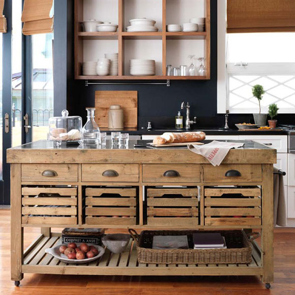 Small kitchen island on wheels | | Kitchen ideas