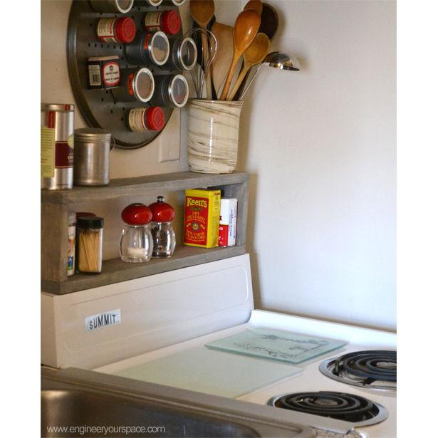 Small kitchen shelf Photo - 11