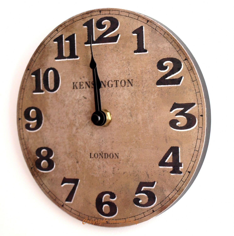 Small kitchen wall clocks kitchen ideas - Small kitchen clock for wall ...