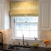 Small kitchen window treatments Photo - 1