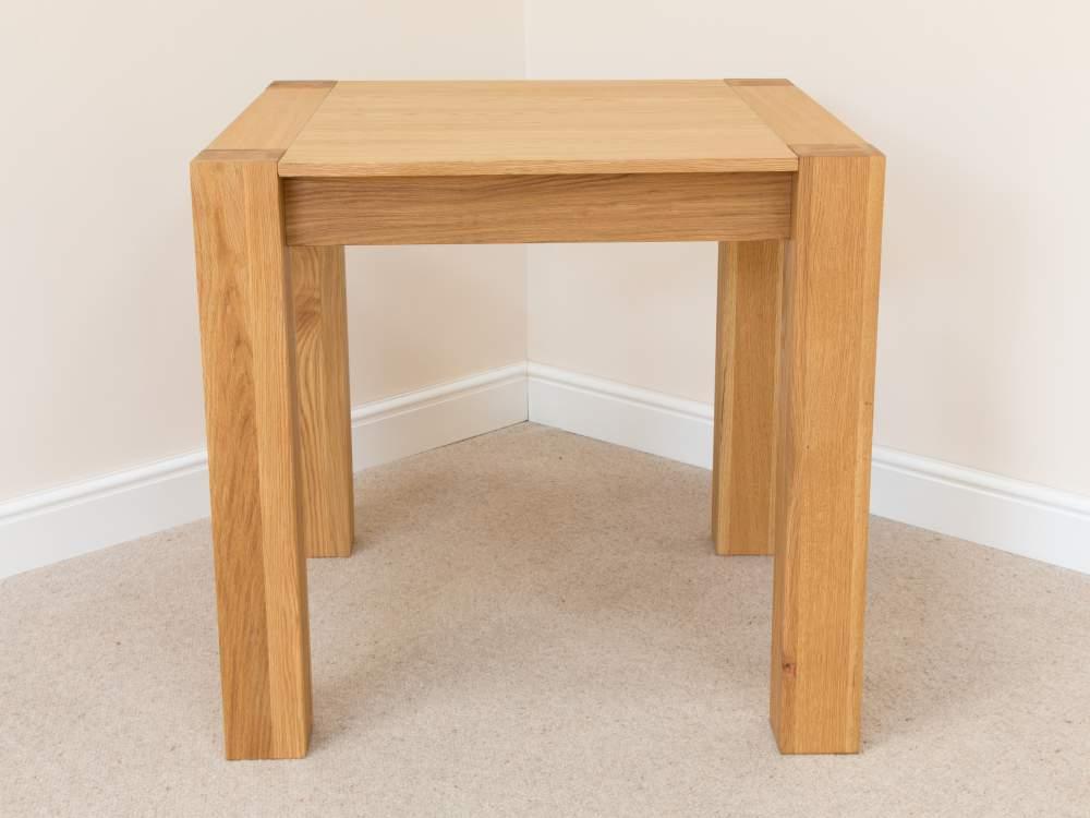 Square Oak Kitchen Table