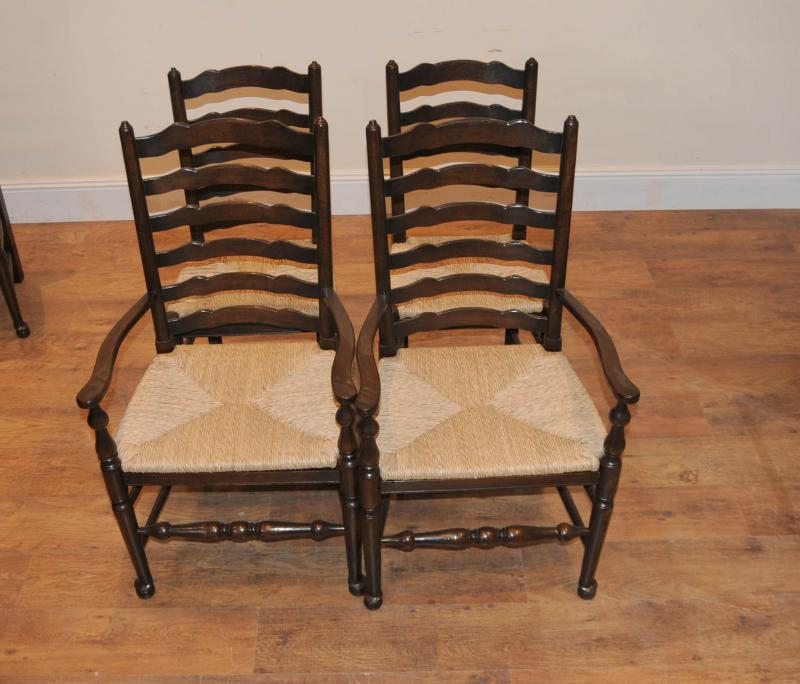 Solid oak kitchen chairs Photo - 9