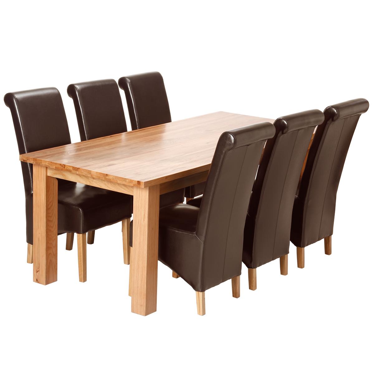 Solid oak kitchen chairs Photo - 10