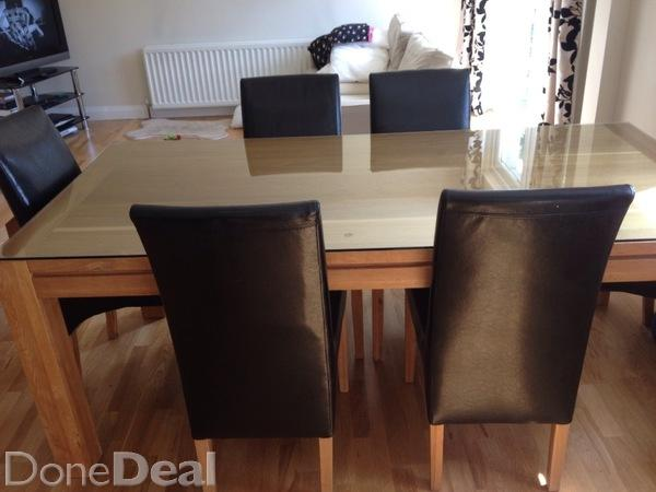 Solid oak kitchen chairs Photo - 7