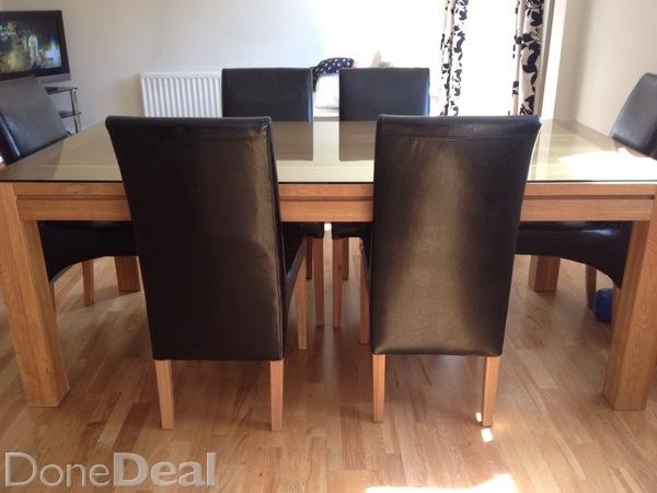 Solid oak kitchen chairs Photo - 8