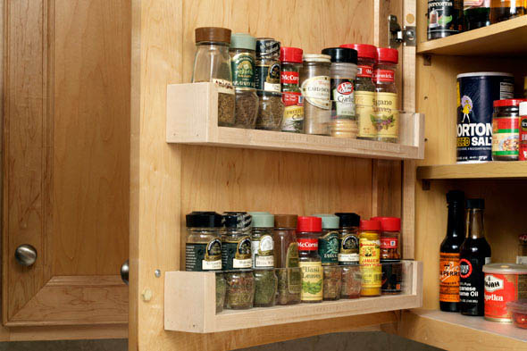 Spice racks for kitchen cabinets Photo - 11