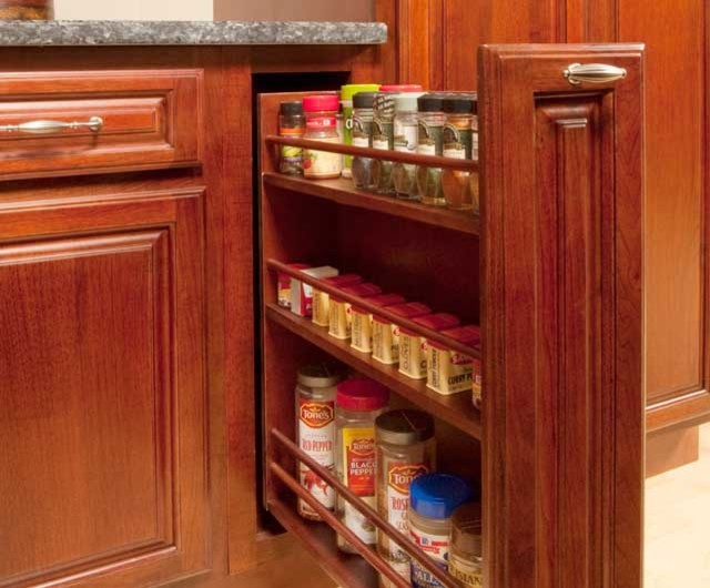 Spice racks for kitchen cabinets Photo - 12