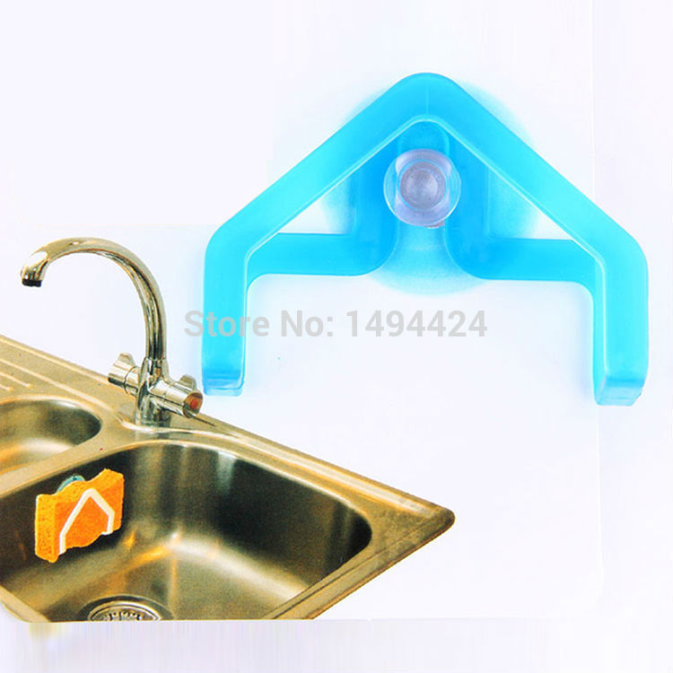 Sponge holder for kitchen sink Photo - 1