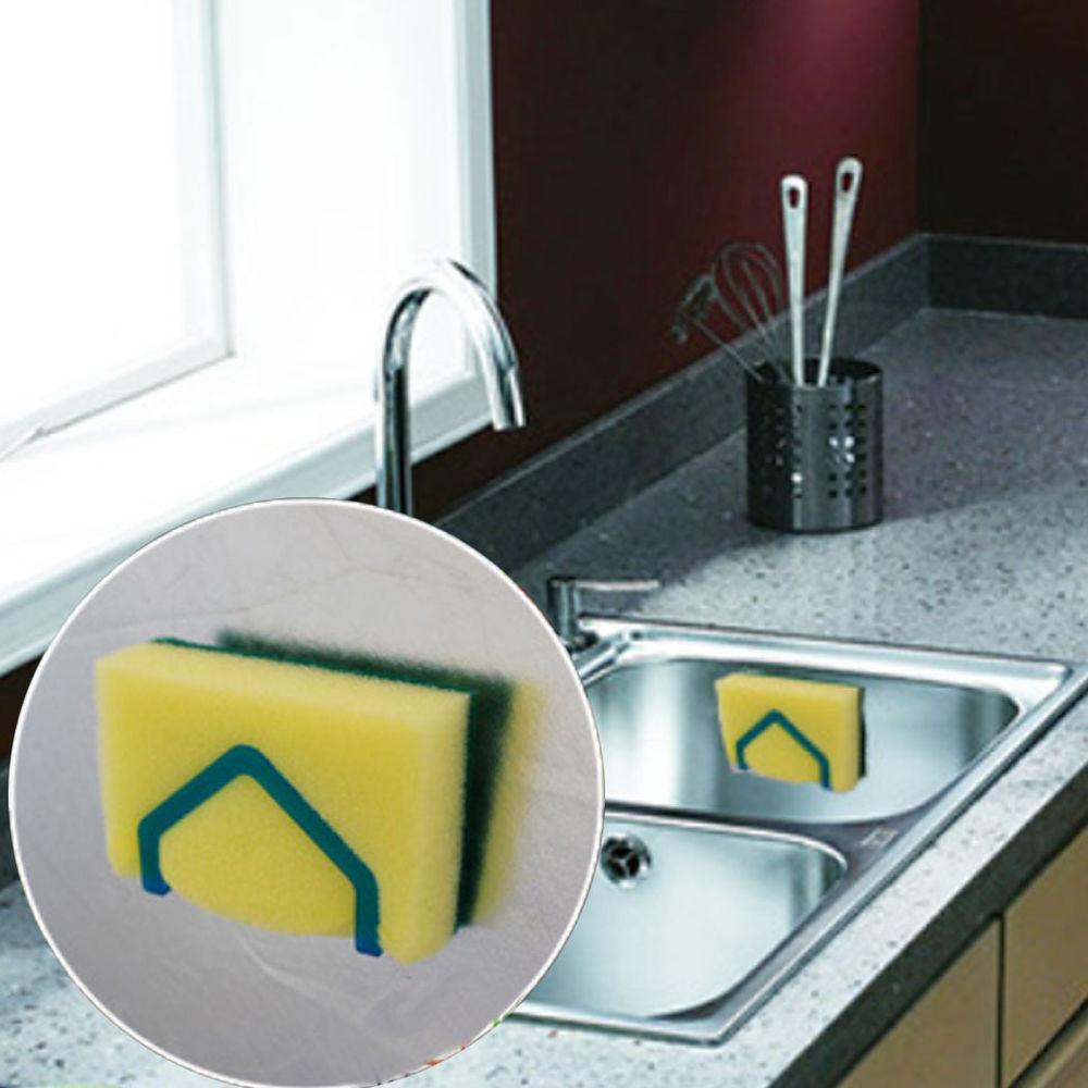Sponge holder for kitchen sink Photo - 12