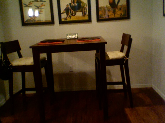 2 Seater Kitchen Table