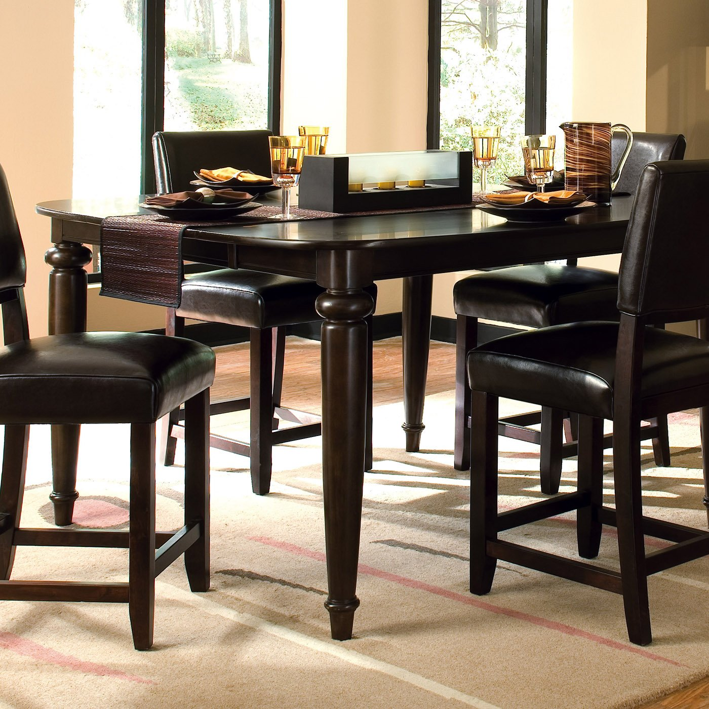 square kitchen tables photo with square kitchen table - Square Dining Room Table Sets