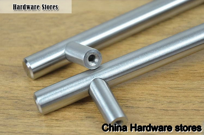 Stainless steel handles for kitchen cabinets Photo - 11