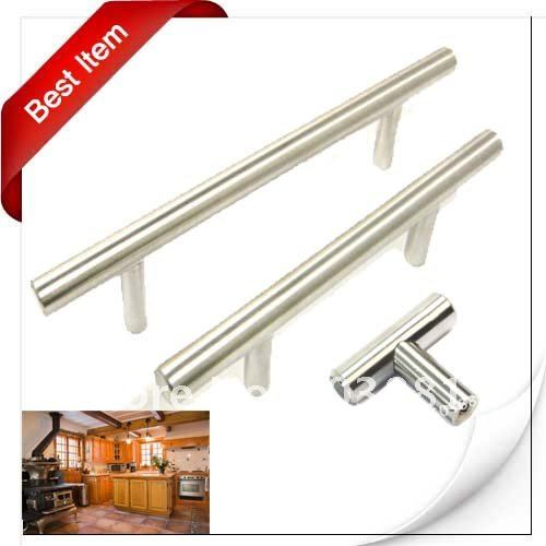 Stainless steel kitchen cabinet handles Photo - 7