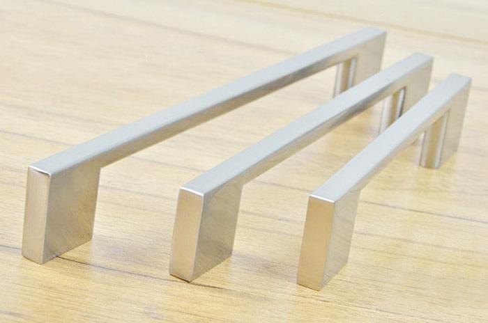 Stainless steel kitchen cabinet knobs Photo - 7