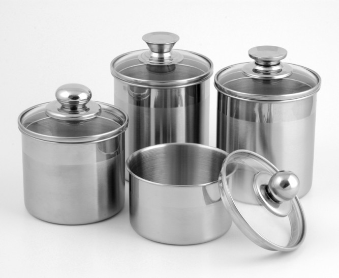 ... Stainless Steel Kitchen Canisters Photo   11