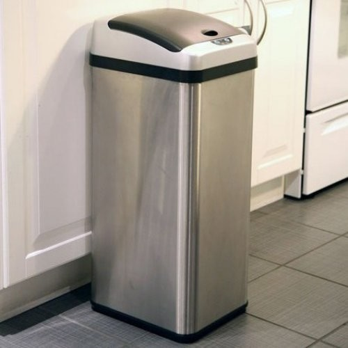 stainless steel kitchen garbage can | kitchen ideas