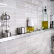 Stainless steel kitchen shelves Photo - 1