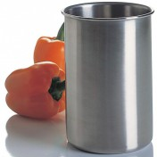 Stainless steel kitchen utensil holder Photo - 1