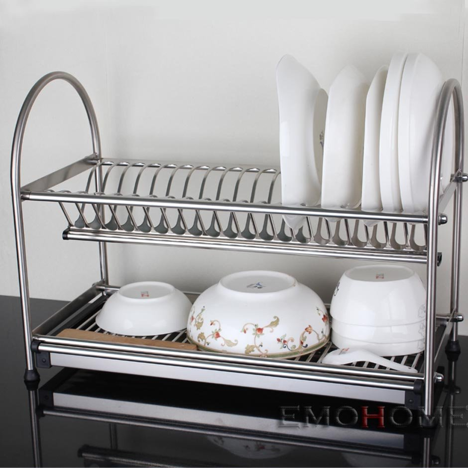 Stainless steel kitchen utensil holder Photo - 5